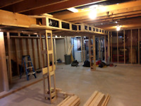 Basement Framing - 20 Years Experience - fb Page