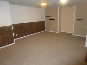 Two Bedroom in Basement for rent