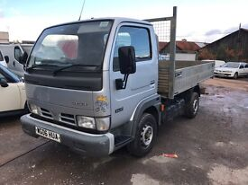 2006 Nissan Cabstar 34.10 SWB Tipper Truck px welcome NO VAT