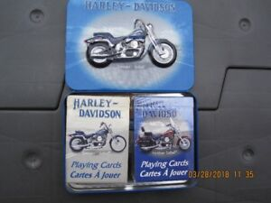 HARLEY COLLECTORS PLAYING CARDS
