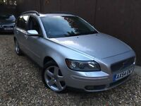 2004 VOLVO V50 SE 2.0 D (E4) 136BHP FULL LEATHER INTERIOR HEATED SEAT 6 SPEED AC CD