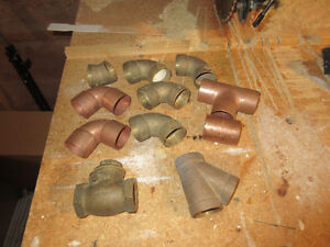 "brass and copper 1.½"" fittings"