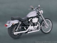 Sportster exhaust for 97 needed