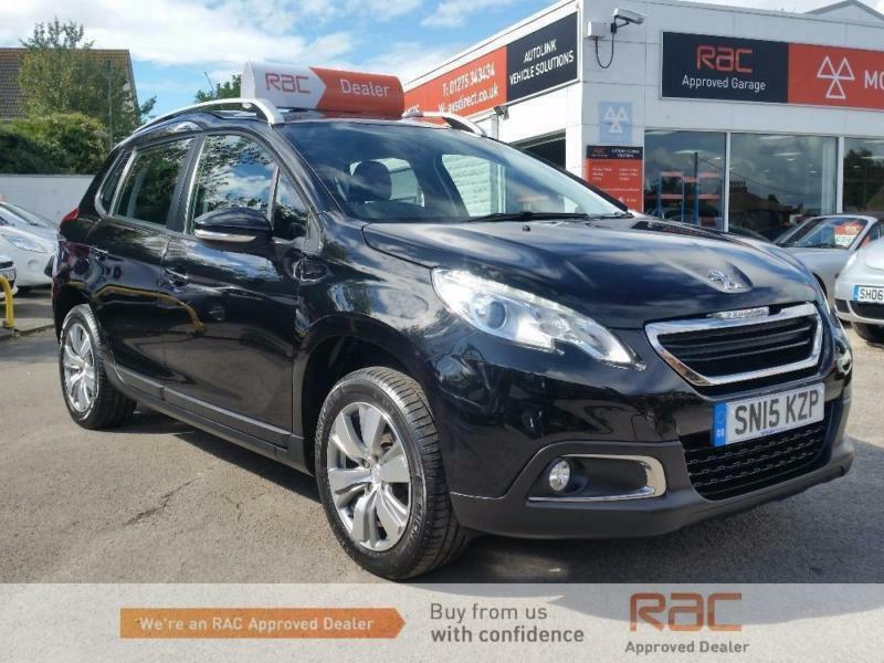 PEUGEOT 2008 ACTIVE 2014 Petrol Automatic in Black