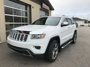 2014 Jeep Grand Cherokee Limited **BAS KILOMÉTRAGE**