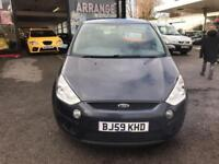 Ford S-MAX 2.0TDCi ( 140ps ) Zetec 7 SEATER - 2009 59-REG - FULL 12 MONTHS MOT