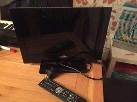 Small tv with DVD player