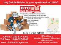 Residential & Commercial Storage!