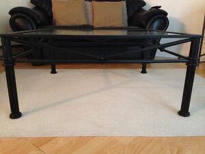Glass coffee table/side table Gatineau Ottawa / Gatineau Area image 2