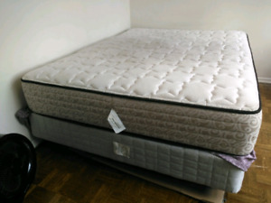 Kingsdown Queen Mattress+Box Spring+Frame