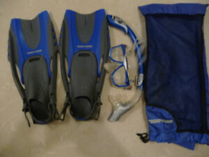 Adult Snorkeling set. Great for your trip to the Caribbean.