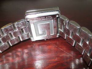 Authentic mens stainless GUCCI G watch Cambridge Kitchener Area image 7