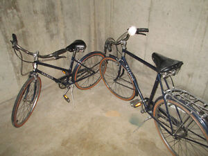 2 Raleigh Bikes His & Hers