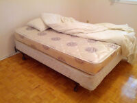 MOVING SALE Beds, bedframes, dressers, desk, chairs, couches