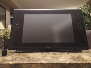 Wacom Cintiq 24HD Touch Tablet. Stand, Pen/Pen Holder included.