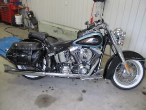 HARLEY SOFTAIL DELUXE 2008