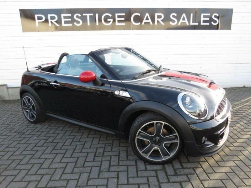 2013 Mini Roadster 20 Td Cooper Sd Roadster 2dr Diesel Black
