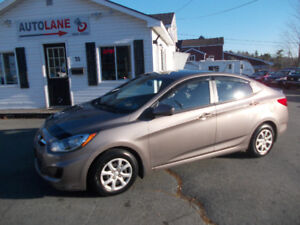 2012 Hyundai Accent Sport Sedan NEW WINTER TIRES $6995 Wow