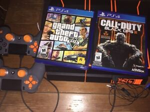 [Rare] 1TB limited edition BO3 PS4 - 2 controllers - 19 games Kitchener / Waterloo Kitchener Area image 2