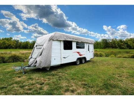 Camec Caravan Cover FITS CARAVAN 22'-24' - 6.6M-7.3M. Perth Perth City Area Preview