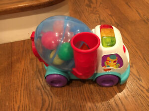 Bright Stars Musical Toy Cement Truck with Balls for Sale