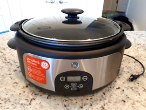GE XL Slow Cooker
