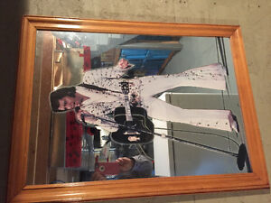 Elvis mirror and collection of Elvis items