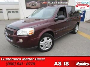 2009 Chevrolet Uplander LS  AS IS (UNCERTIFIED) AS TRADED