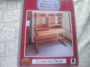 Do-it-yourself SHOPSMITH'S HEIRLOOM PROJECTS  :Computer Desk""