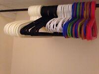 Mixed coat hangers
