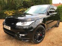 2015 RANGE ROVER SPORT 3.0 SDV6 306 AUTOBIOGRAPHY DYNAMIC BLACK PACK 7 SEAT