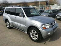 Mitsubishi Shogun 3.2DI-D Auto Elegance Fully Loaded With Only 109K & Years Mot