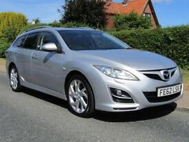 2012 Mazda 6 6 2.2D SPORT 180 BHP 5DR TURBO DIESEL ESTATE ** FULL MAZDA HISTO...