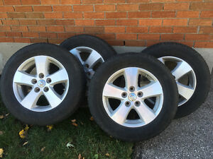 Dodge Journey Mounted Tires
