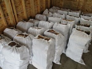100 Lb Bags of Clean, Split & Dry Birch Firewood –  in South Edm