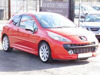 Peugeot 207 1.6 GTI, Red, 2007, Hatchback, 3 Door Hatch, 6 Months AA Warranty