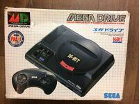 Boxed Sega Megadrive Asian Japanese model 1 edition
