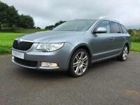 SKODA SUPERB 2.0TDI CR ( 170ps ) DPF DSG *ELEGANCE* AUTOMATIC* ESTATE* GREY 2013