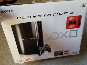 PS3 80G (fat edition)