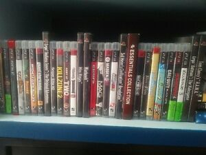 PS3 Slim Playstation 3 Console + 25 Games Bundle Mega Collection