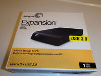 Disque Seagate Expansion 1tb usb 3