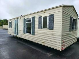 Static caravan Abi Domaine 28x10 2bed - Free UK delivery.