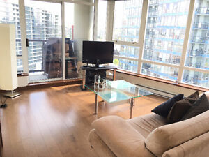 Yaletown Vancouver Modern Furnished 2 Bed / 2 Bath Condo Rental