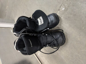 Mens Firefly Snowboarding Boots Size 10