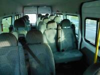 2014 14 FORD TRANSIT MINIBUS 430 LWB EL 135PS 17-SEATS TACHOGRAPH DIESEL