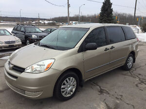 2005 TOYOTA SIENNA CE !! CERTIFIED!! FINANCING!!