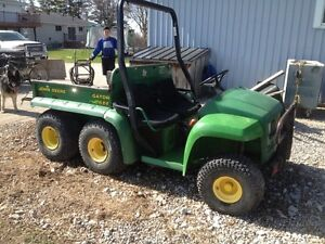 Wanted john deere gator 4x2 or 6x4 parts