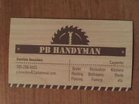 PB Handyman-your vision our goal!