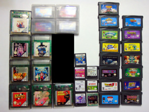 GameBoy Colour, Advance & DS Games