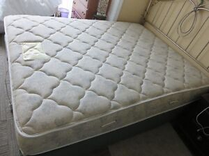 Now it's Free: QUEEN SIZE MATTRESS AND BOX SPRING